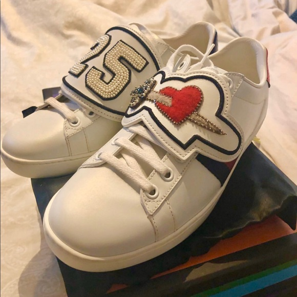 Gucci Shoes | Gucci Ace Sneakers With
